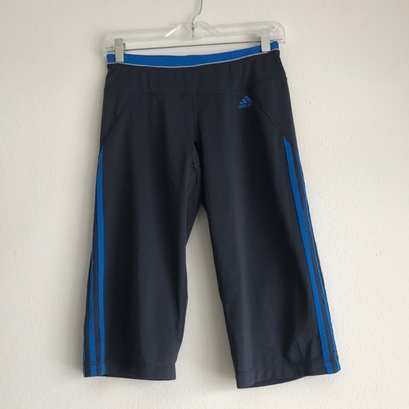 adidas Pants - Adidas Climalite Athletic Capris Size Small